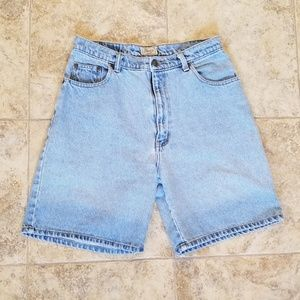 Bass Vintage Mom Jean Shorts Good Condition